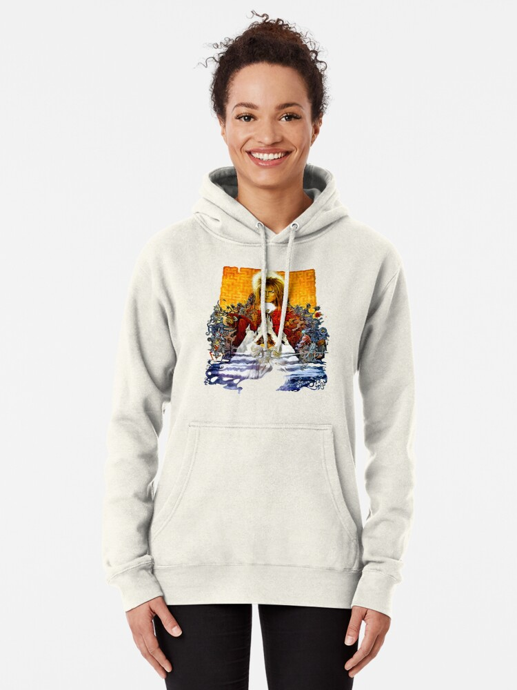 Alternate view of Labyrinth Poster Pullover Hoodie