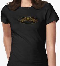 Gothic Batman Women's Fitted T-Shirt