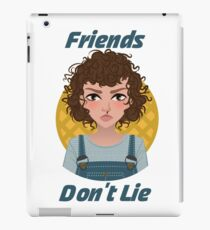 Friends Don't Lie Cute Eleven - Stranger Things 2 iPad Case/Skin
