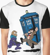 Doctor Mario Who Graphic T-Shirt