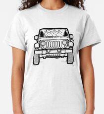 Jeep-Abenteuer Classic T-Shirt