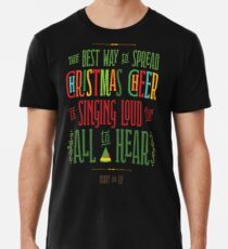 Camiseta premium Buddy el duende - alegría navideña