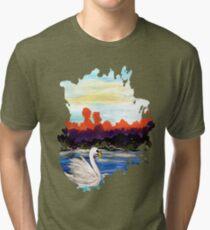 Swan Life Tri-blend T-Shirt