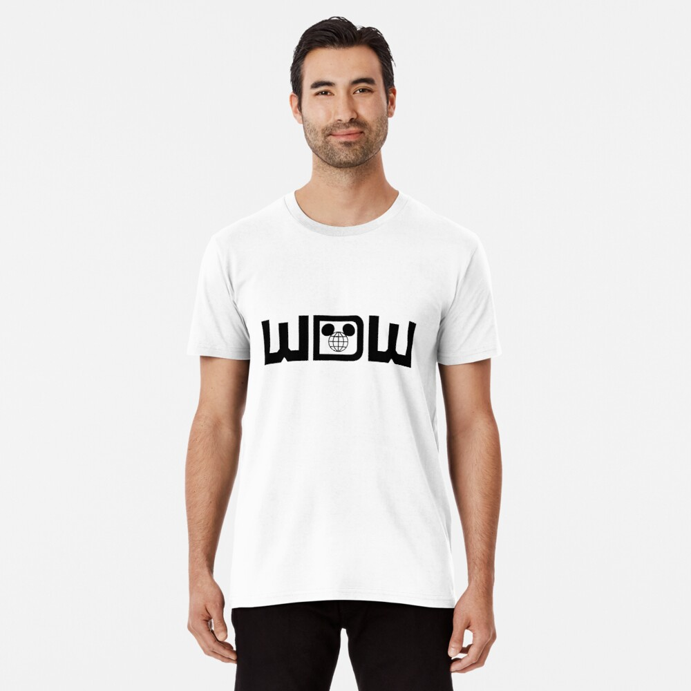 WDWBlackWide Premium T-Shirt
