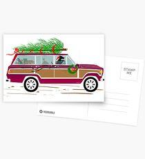 Coddiwomple Christmas Postcards