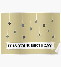 The Office - It Is Your Birthday. Poster