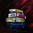 Books Of Knowledge by Adam Santana