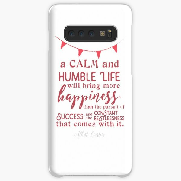 Einstein's Theory of Happiness Samsung Galaxy Snap Case