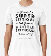 ff3e4dad0 The Office Dunder Mifflin Michael Scott Quote - Superstitious Premium T- Shirt