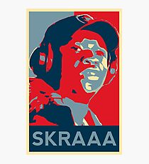 The Ting Goes Skraa Photographic Print