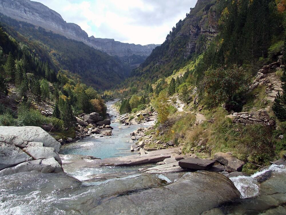 Scenic Spanish valley by John Quinn