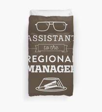 The Office Dunder Mifflin - Assistant to the Regional Manager Duvet Cover