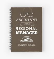 The Office Dunder Mifflin - Assistant to the Regional Manager Spiral Notebook