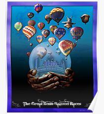 The Great Reno Balloon Races Poster