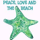 Peace, Love and the Beach by ChubbyMermaid