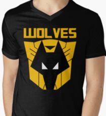 Wolverhampton Wanderers F.C. Transformers Men's V-Neck T-Shirt
