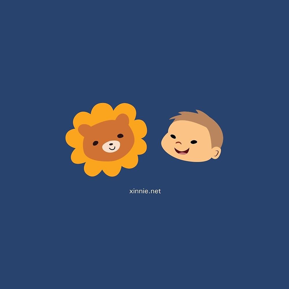 Alistair & Guardian Lion-O by xinniepyon