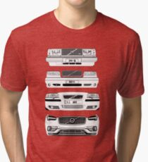 Volvo Fab Four Chassis Tri-blend T-Shirt