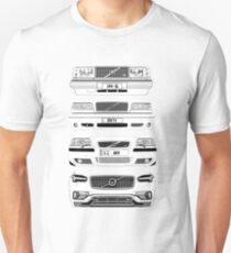 Volvo Fab Four Chassis Unisex T-Shirt
