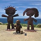 Sculptures By The Sea,Bondi,NSW 2017-Three Figures by muz2142