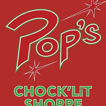 Pop's Chock'lit Shoppe by huckblade