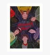 Stranger Things 2  Art Print