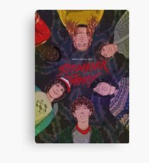 Stranger Things 2  Canvas Print