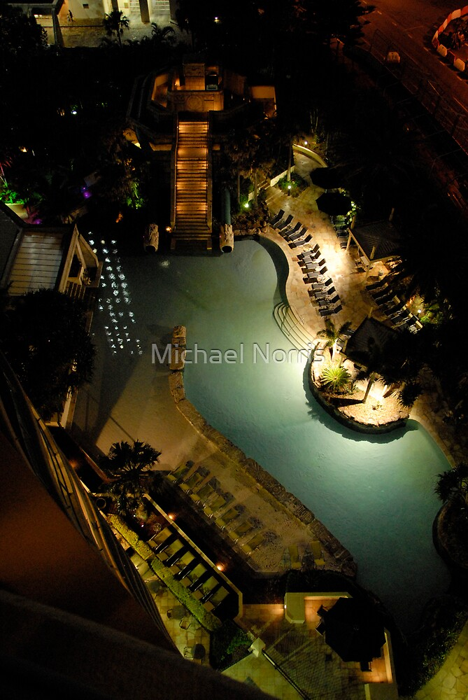Night-View from the Balcony by Michael Norris