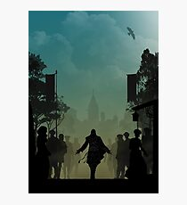 Warriors Landscapes - Assassins Creed - Ezio Photographic Print