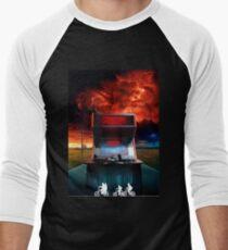 Arcade Stranger Composition Men's Baseball ¾ T-Shirt