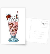 Pop's Milkshake / Riverdale Postcards