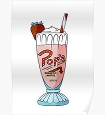 Pop's Milkshake / Riverdale Poster