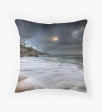 Dreamy Magnetic Morning Throw Pillow