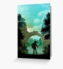 Warriors Landscapes - Legend of Zelda - Link Greeting Card