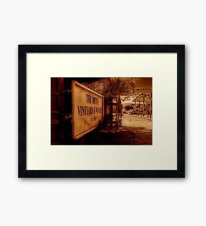 """The Minya Entrance"" Framed Print"