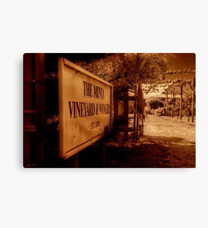 """""""The Minya Entrance"""" Canvas Print"""