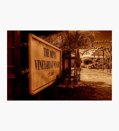 """The Minya Entrance"" Photographic Print"