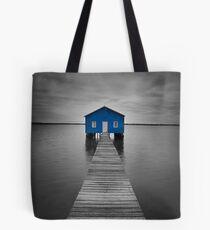 Blue Boatshed Tote Bag