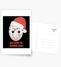 160 Sleeps Til Summer Camp Postcards