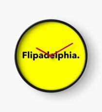 Flipadelphia Design Clock