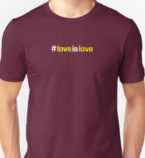 #loveislove Slim Fit T-Shirt