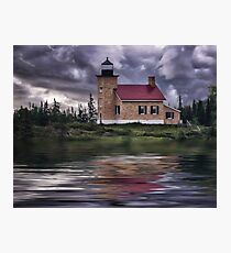 Copper Harbor Lighthouse - Michigan Photographic Print