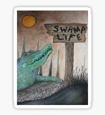 Swamp Life Sticker