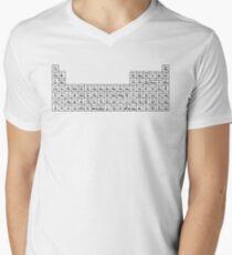 KPOP PERIODISCHE TABELLE T-Shirt mit V-Ausschnitt