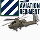 3rd Aviation Regiment Apache by jcmeyer