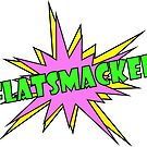FLATSMACKED Stickers (Green & Purple) by GLOBEXIT