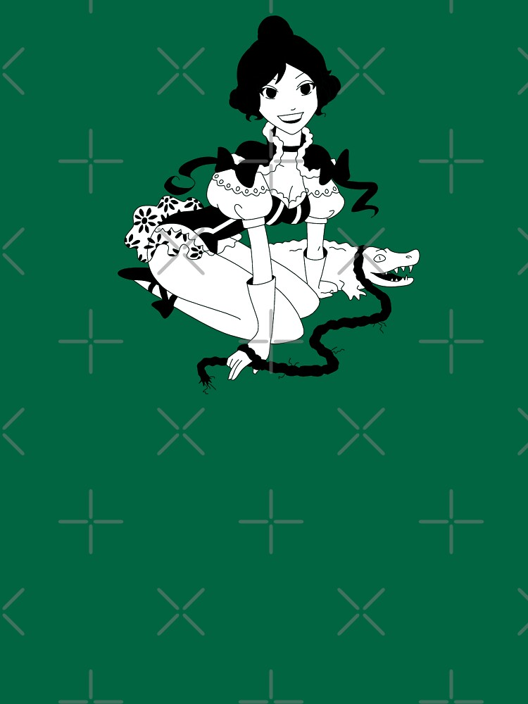 Pinup Tightrope Girl - Haunted Mansion by luffans