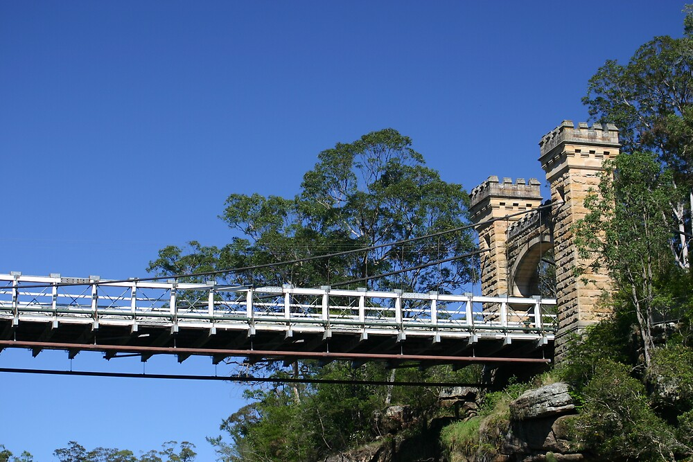 Hampden Bridge, Kangaroo Valley, NSW, Australia by SkyPhotos