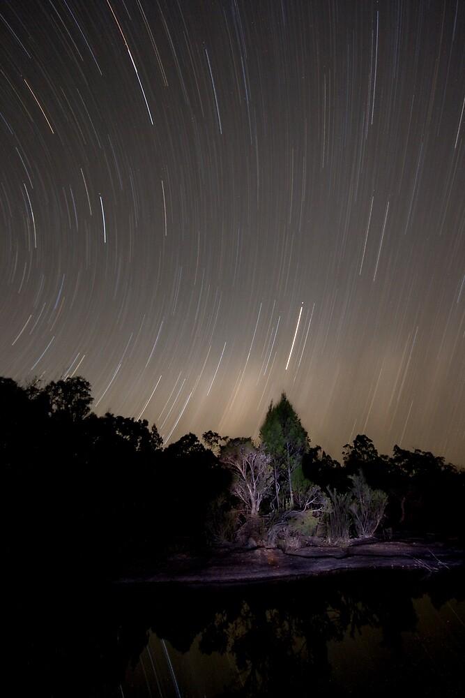 Stars Race Across The Sky by Lance Jackson