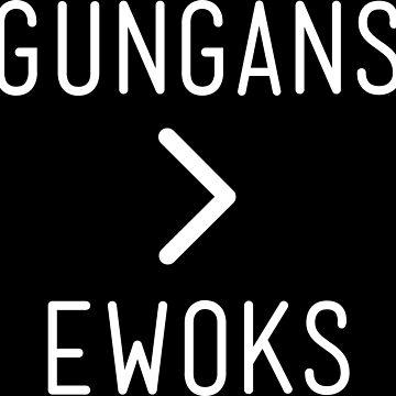 Gungans Are Better Than Ewoks by DorkSide